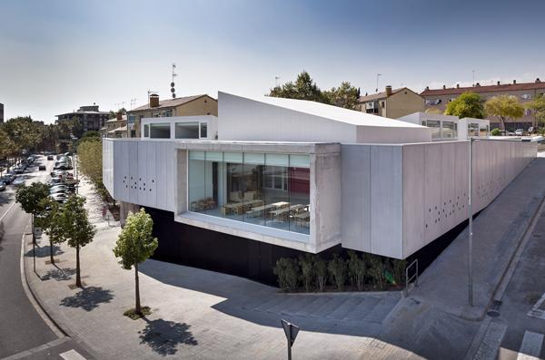 Jard n de infancia virolet mario corea arquitectura for Casa moderna corea