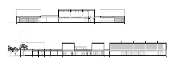 Escuela t cnica n 508 mario corea arquitectura for Cortes arquitectonicos