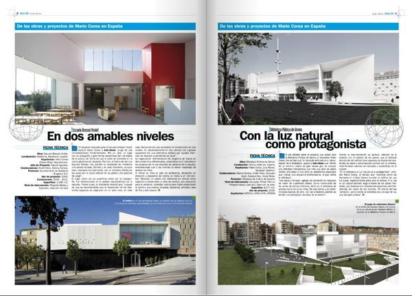 Todo obras entrevista a mario corea mario corea arquitectura for Revistas de arquitectura online
